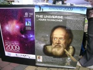 The poster of IYA 2009