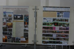 Posters about various activities