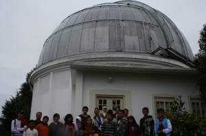 Visiting Bosscha observatory