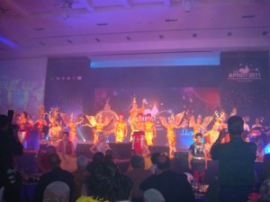 The Opening Ceremony of APRIM 2011
