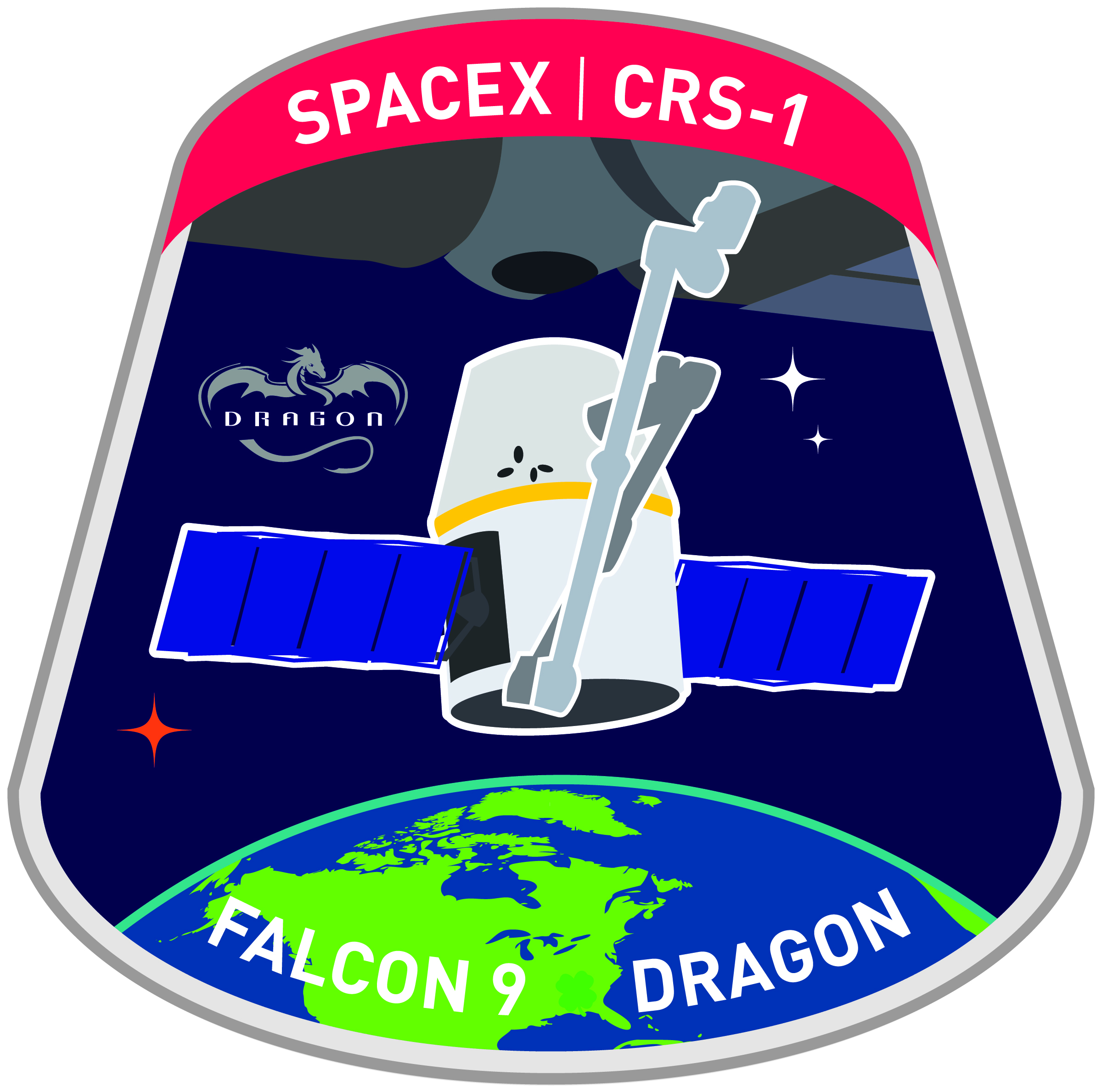 spacex crs 4 logo - photo #12