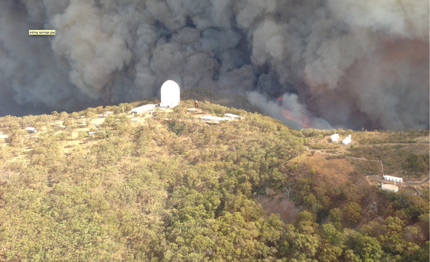 Siding Spring Observatory Is Being Threatened By A Bush