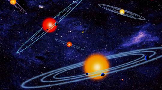 Une vue artistique décrivant les systèmes planétaires découverts par le télescope spatial Kepler. Crédit: NASA