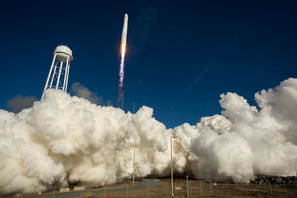 NASA leveraged its $800M COTS program budget with partner funds. This resulted in two new U.S. medium-class launch vehicles built by SpaceX and Orbitalcand two automated cargo spacecraft and demonstrated the efficiency of such partnerships.
