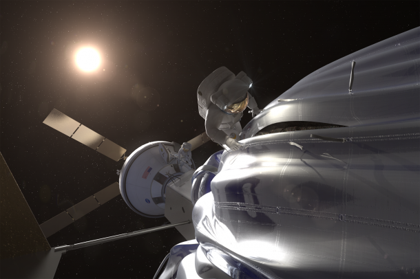 Asteroid Redirect Mission (ARM). Image Credit: NASA