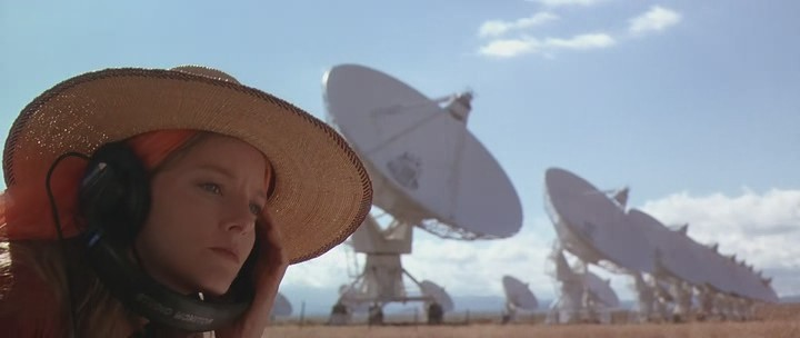 "Jodie Foster in the movie ""Contact"""