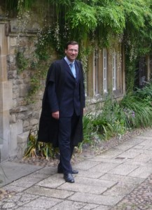 Prof. Philipp Podsiadlowski at St. Edmund Hall.