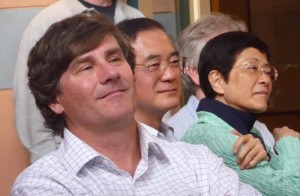 Alex Filippenko, Kenichi Nomoto and his wife