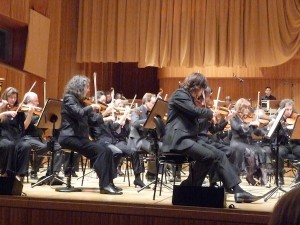 The WDR orchestra at Glauco's concert