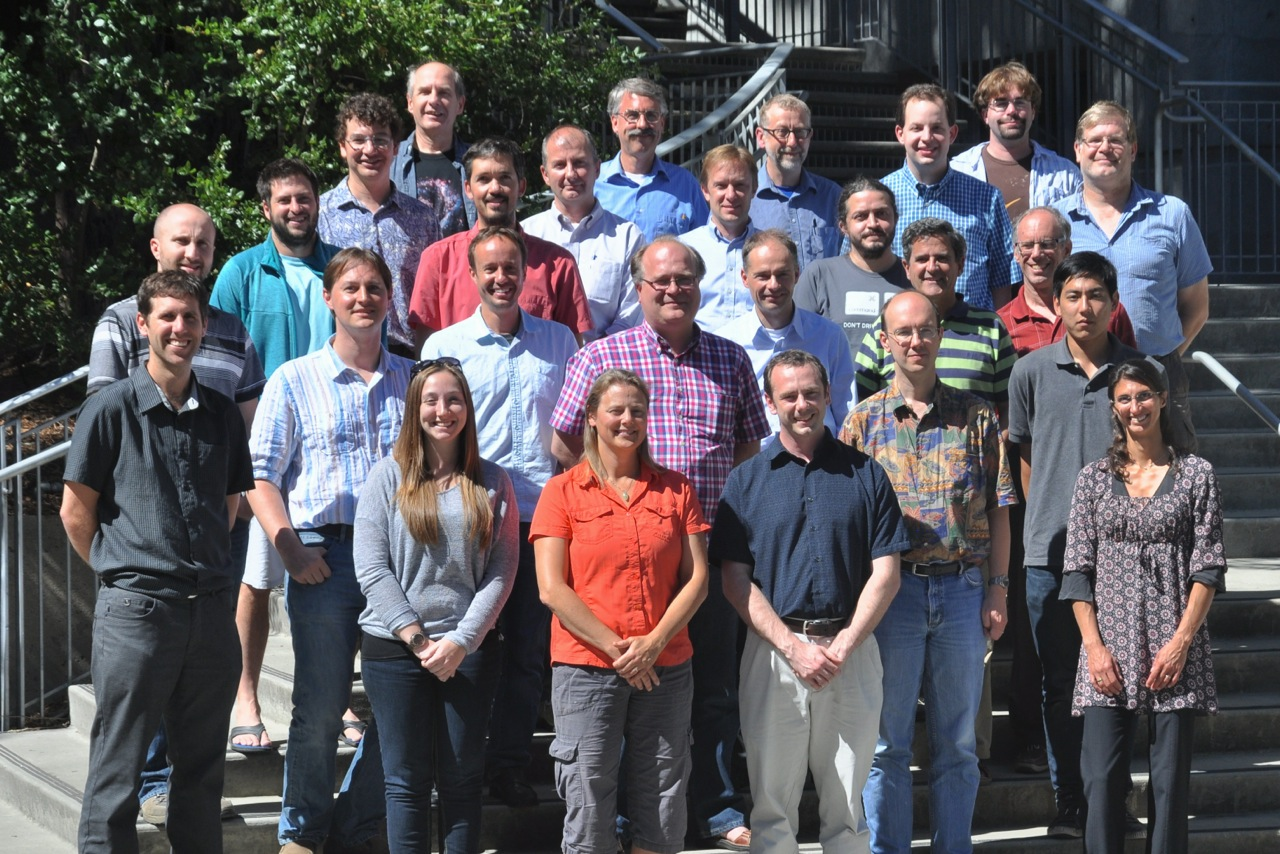 Group picture of the GPI Pre-Delivery Acceptance Review taken at UC Santa Cruz