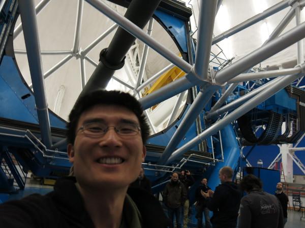 Telescope selfie!