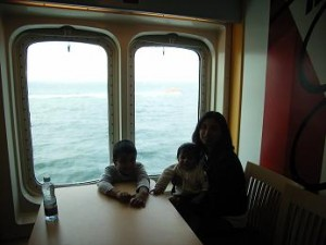 In the Ferry going from Rostock to Gedser