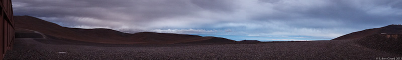 Threatening Clouds over Paranal Observatory