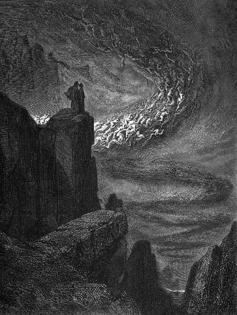 Dante's Inferno, illustrated by Gustave Dor, 1890